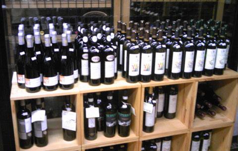 試飲会用のワイン